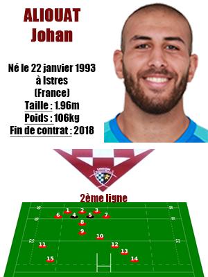 1UBB - Fiche joueur Aliouat Johan