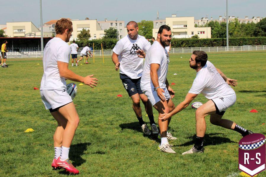 Exercice UBB La plaine des sports de Bègles