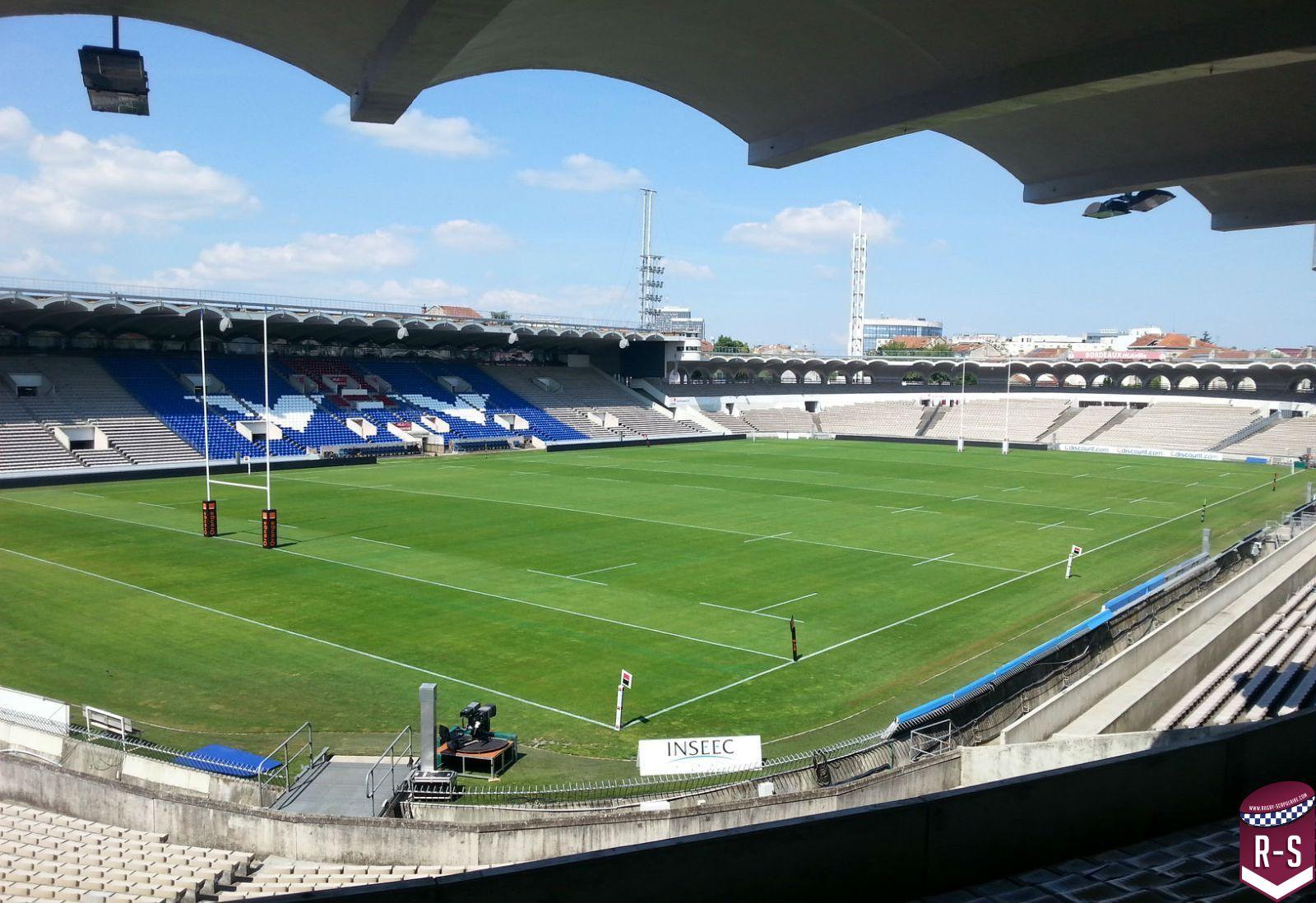 Stade Chaban Delmas vide