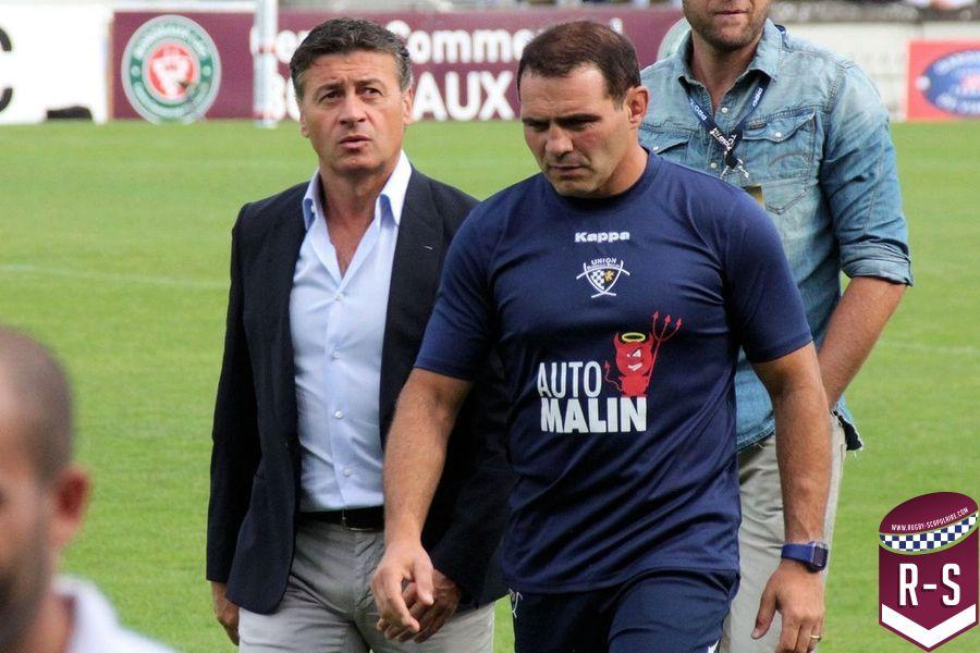 Raphael Ibanez et Laurent Marti