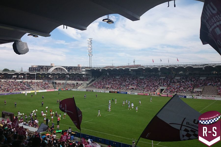 Chaban Delmas Bordeaux-Montpellier supporters