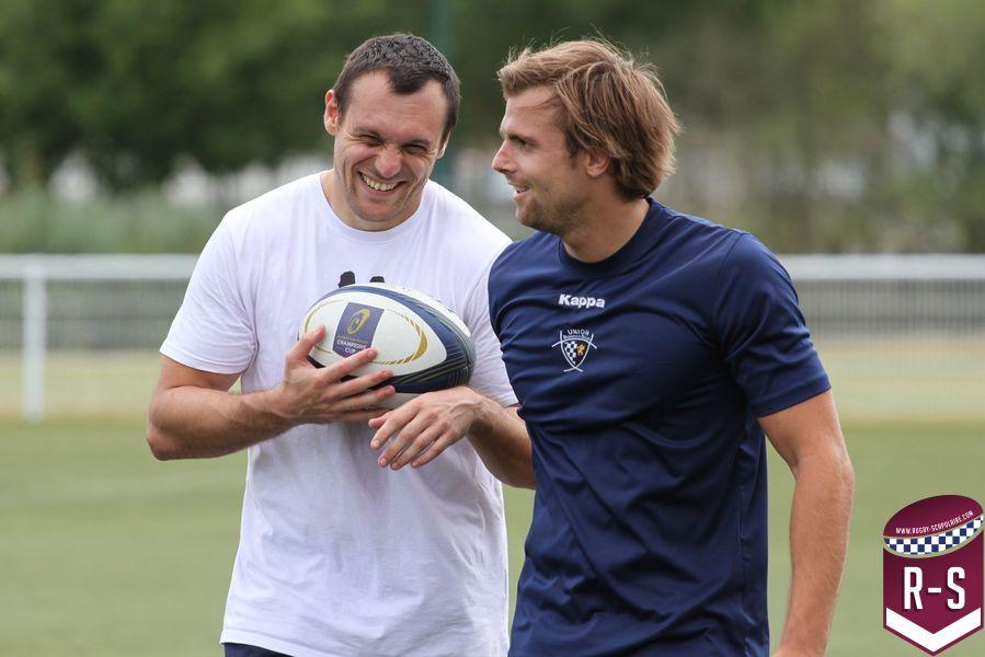 Lionel Beauxis et Yann Lesgourgues