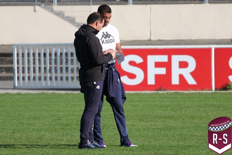 Raphaël Ibanez et Emile Ntamack