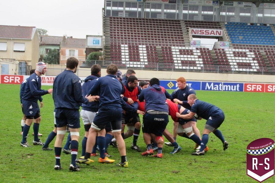 Photos l entra nement du jour rugby scapulaire - Info entrainement coup sur du jour ...