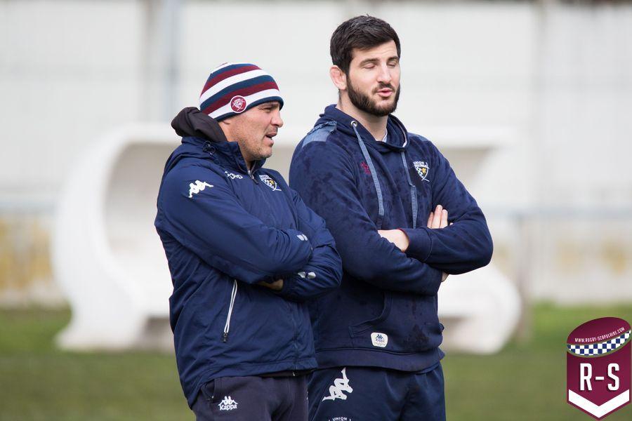 Raphaël Ibanez et Loann Goujon