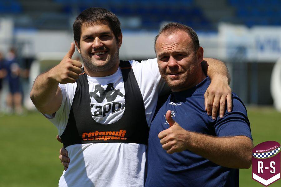 Francisco Gomez Kodela et Jean-Baptiste Poux