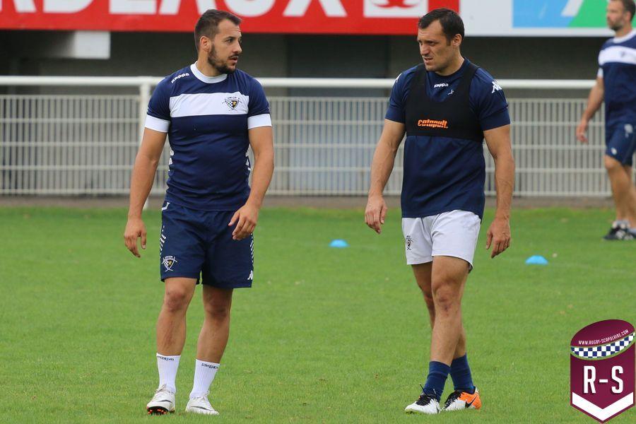 Julien Audy et Lionel Beauxis