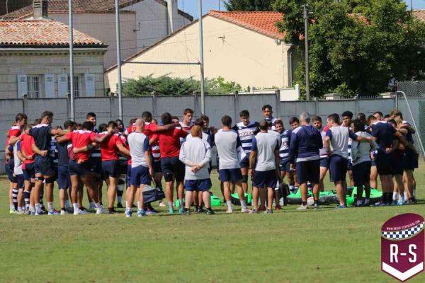 La rencontre entre les Girondins de Bordeaux et l'UBB